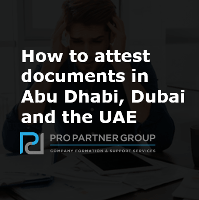 How to attest documents in UAE?