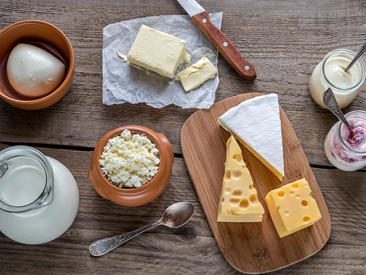 Importance of dairy products in our diet